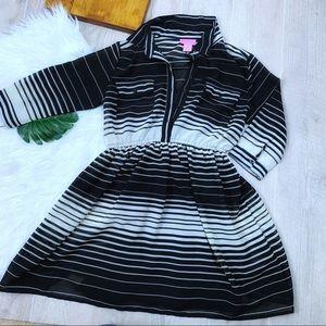 She's Cool   Striped Dress   1511